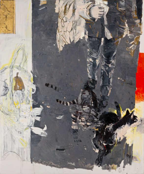 Dall'annunciazione di Lorenzo Lotto - 1999 - olio su tela cm.100x120