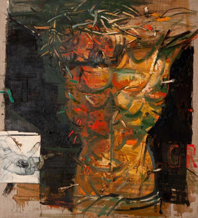 Da Grunewald - 2003 - olio su tela cm.100x110