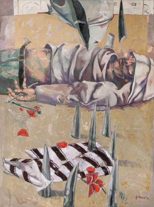 Palestina - 1974-1994 olio su tela cm.97x130