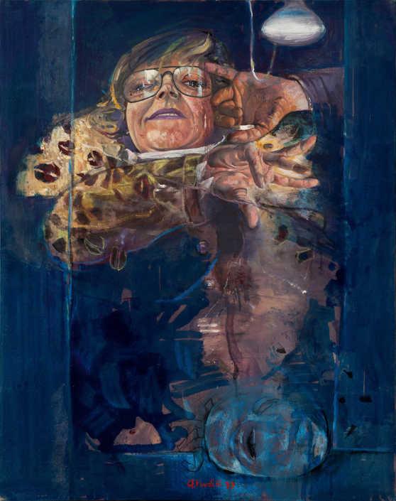 Ritratto per la follia - 1979 olio su tela cm.72x91