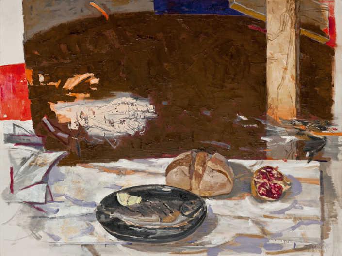Emmaus - 1998 olio su tela cm.116x87