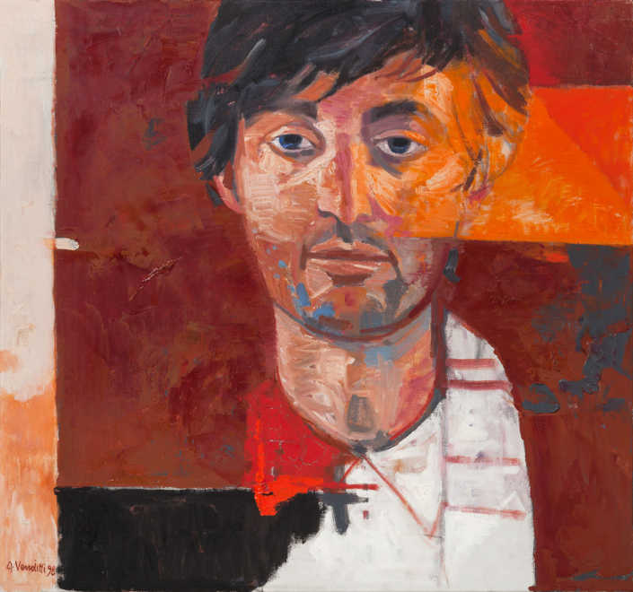 Discepolo di Emmaus - 1998 olio su tela cm.62x58