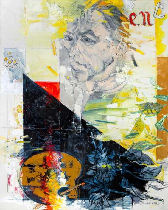 Omaggio a Van Gogh - 2002-2004 olio su tela cm.100x80