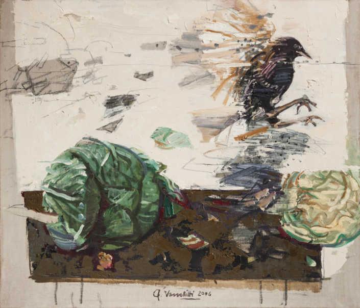 Cibandosi - 2006 olio su tela cm.70x60