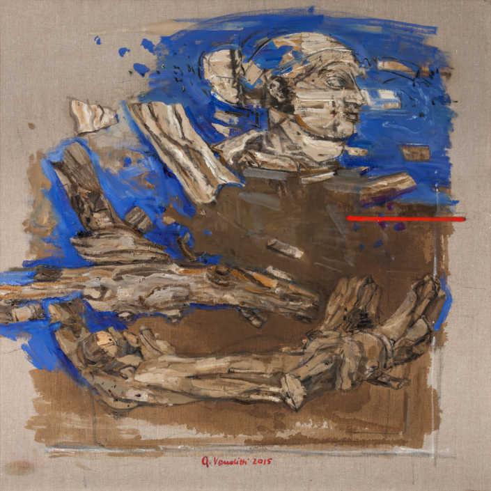 Natura arte - 2015 olio su tela cm.80x80
