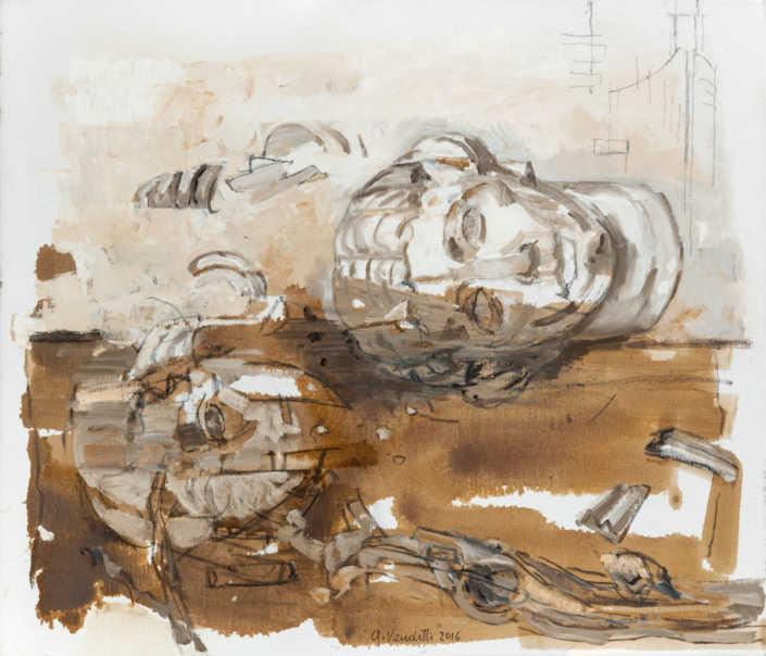 Reperto milanese - 2016 olio su tela cm.70x60